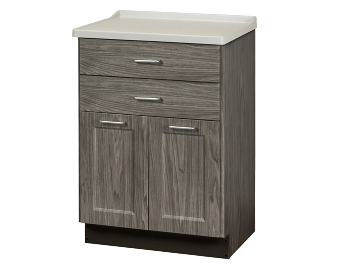 Fashion Finish Molded Top Treatment Cabinet w/ 2 Doors and 2 Drawers CLI8822-AF