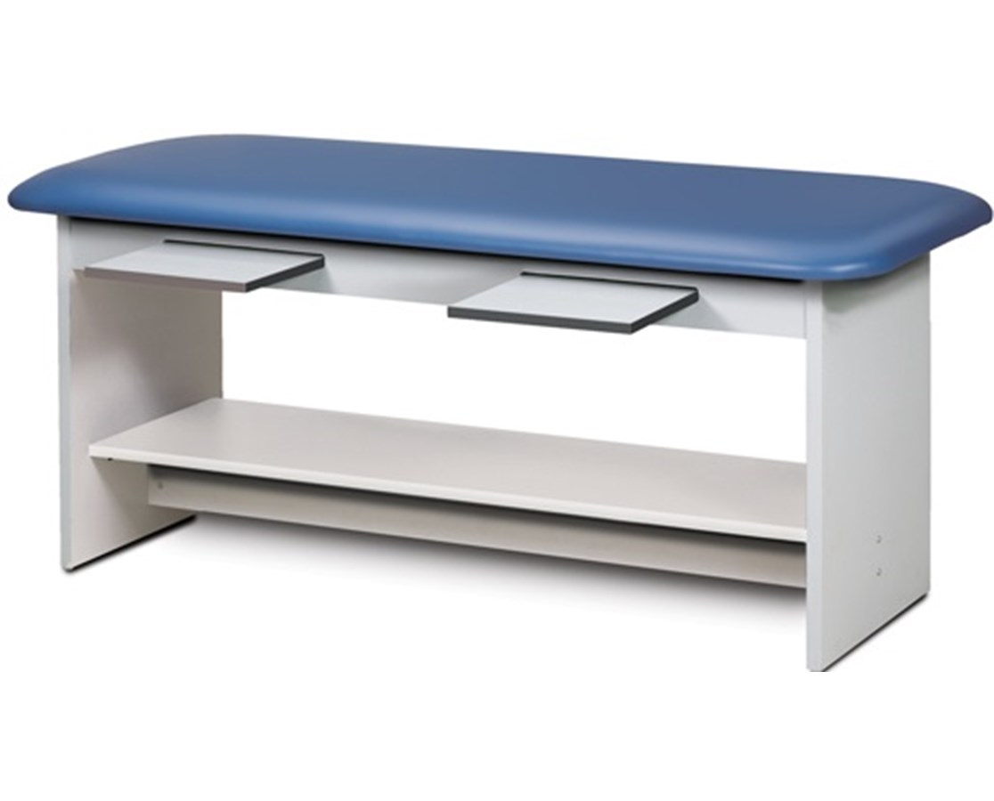Clinton 9102-30 Straight Line Treatment Table with Pull-Out Shelves