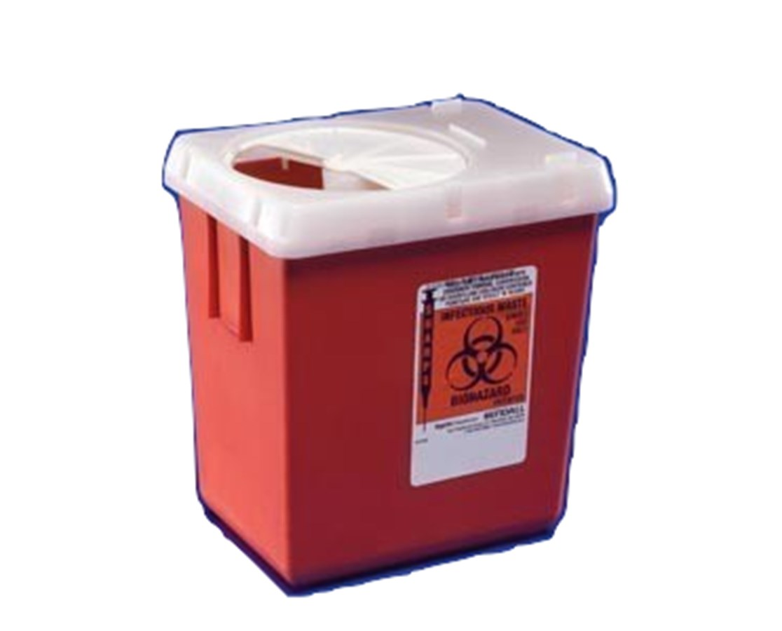 SharpSafety™ Sharps Container, Phlebotomy COV1525SA-