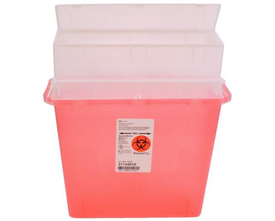 Sharps-A-Gator™ Sharps Container, Tortuous Path - 30/Cs COV31144010-