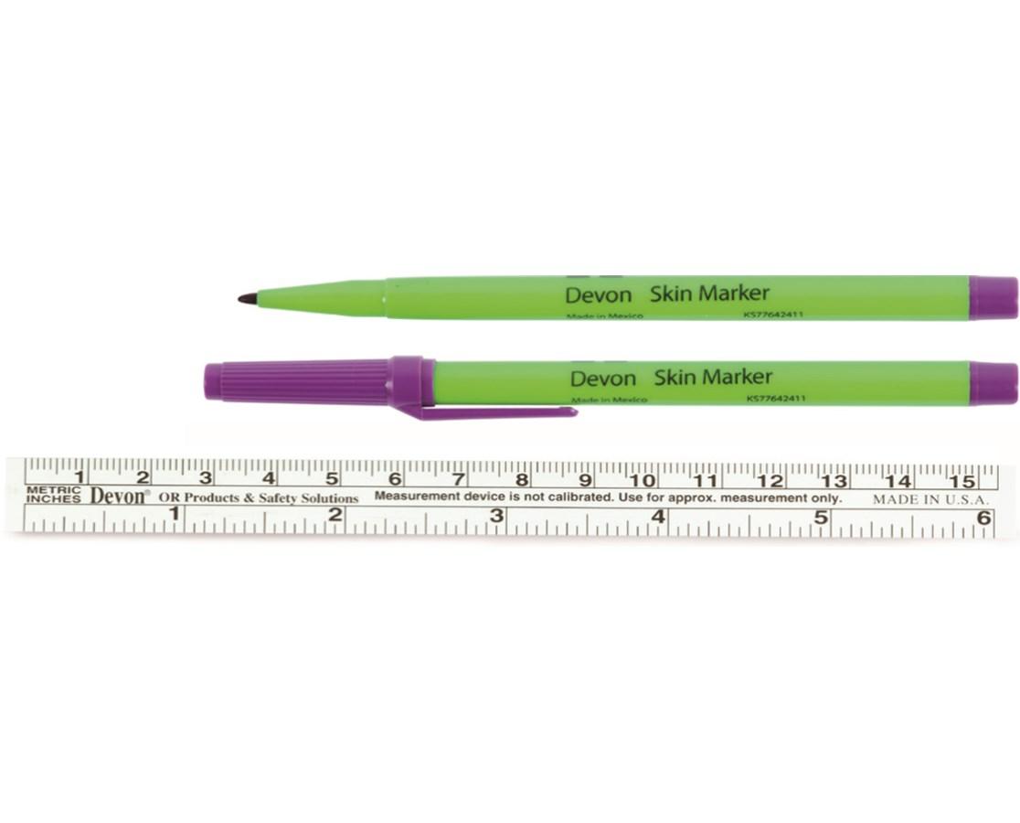 Covidien 31145819 Devon™ Surgical Markers - 100/Case