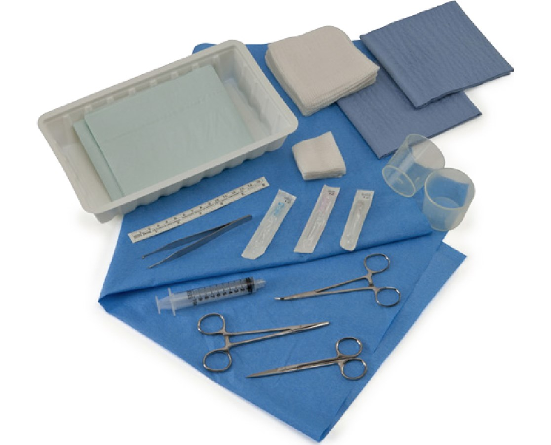 Devon™ Laceration Trays COV50007065-