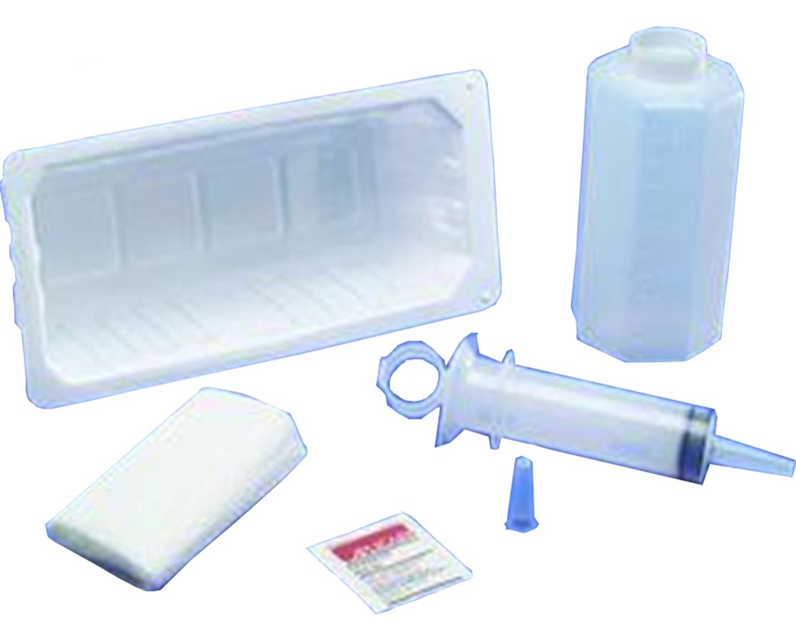Dover Piston Syringe Irrigation Tray, 60CC COV3685