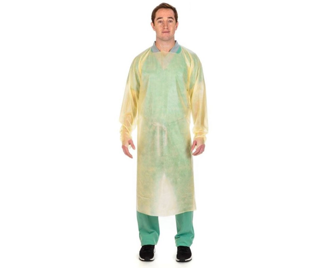 Over-The-Head Poly-Coated Protective Gown COV7211PG