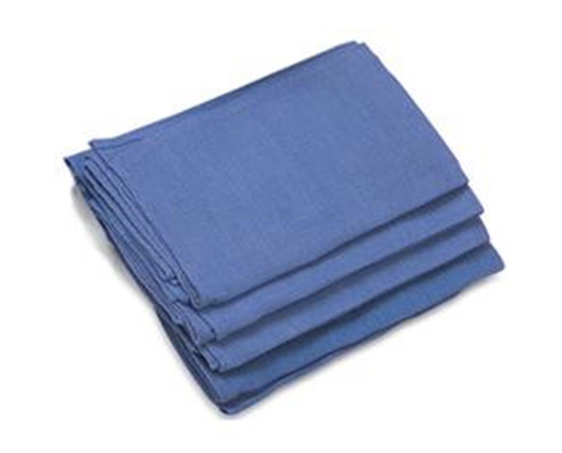 "OR Towel, 17"" x 27"", Blue, Sterile COV77702"