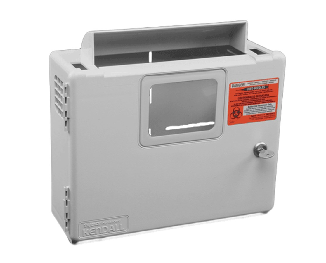 SharpSafety™ Wall Enclosure, For In Room Sharps Container COV85161H-
