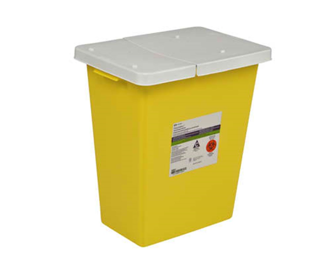 SharpSafety™ Chemotherapy Container, PGII - 5/Cs COV8989PG2