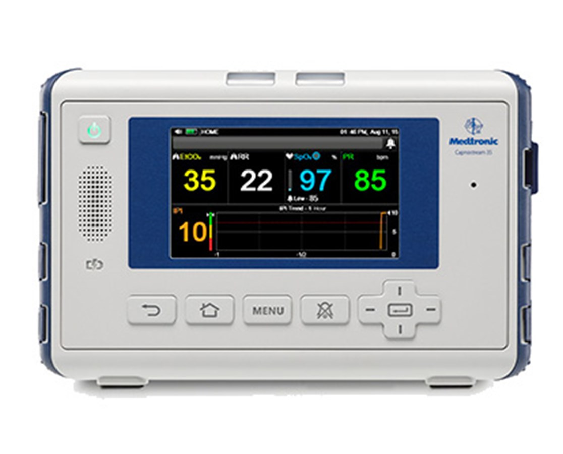 Covidien PM35MN02 Capnostream™ 35 Portable Capnography Patient Monitor