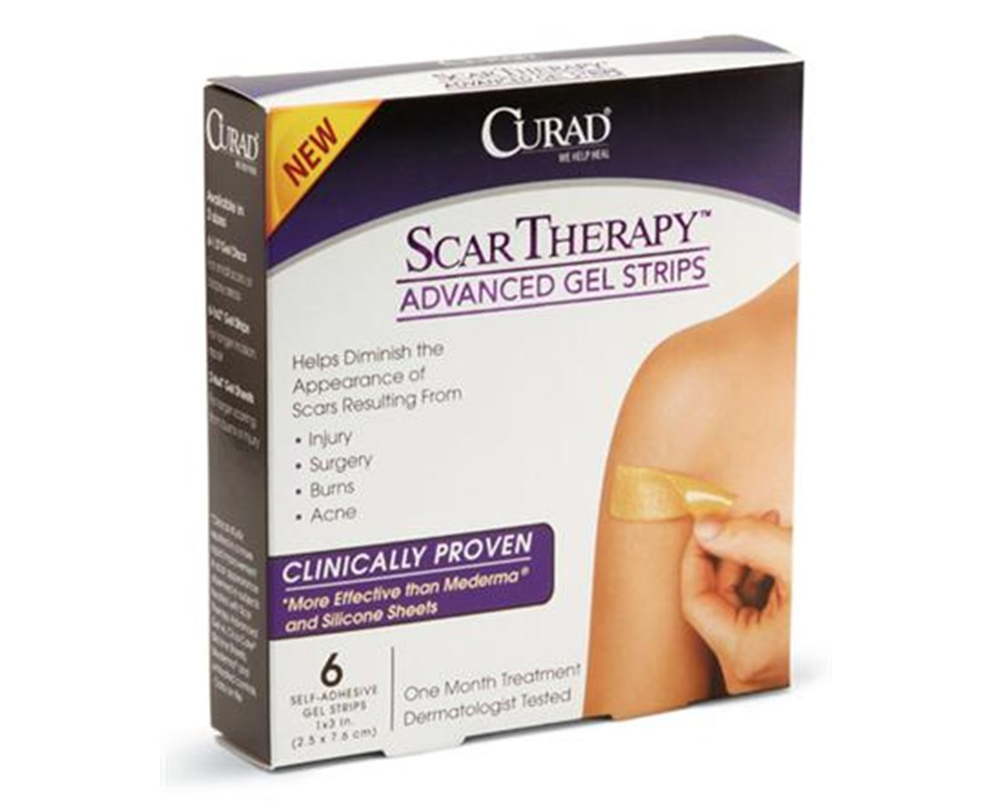 Advanced Scar Therapy Gel Strips CURCUR0023