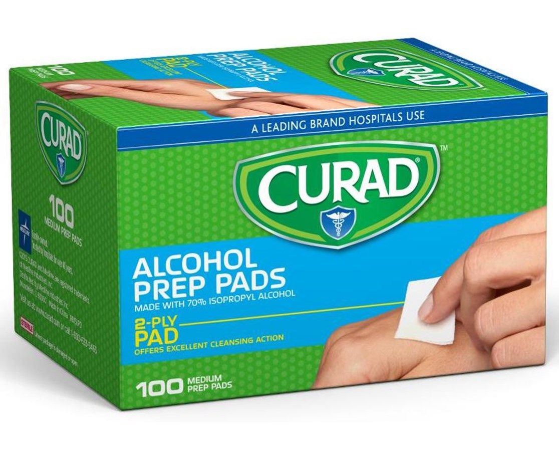 Alcohol Prep Pads CUR45585RB