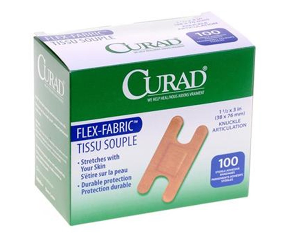 Fabric Adhesive Knuckle Bandages CURNON25510Z-