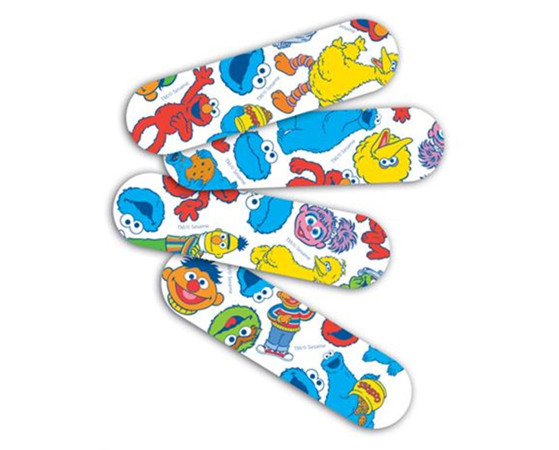 Sesame Street Adhesive Bandages CURNON47070