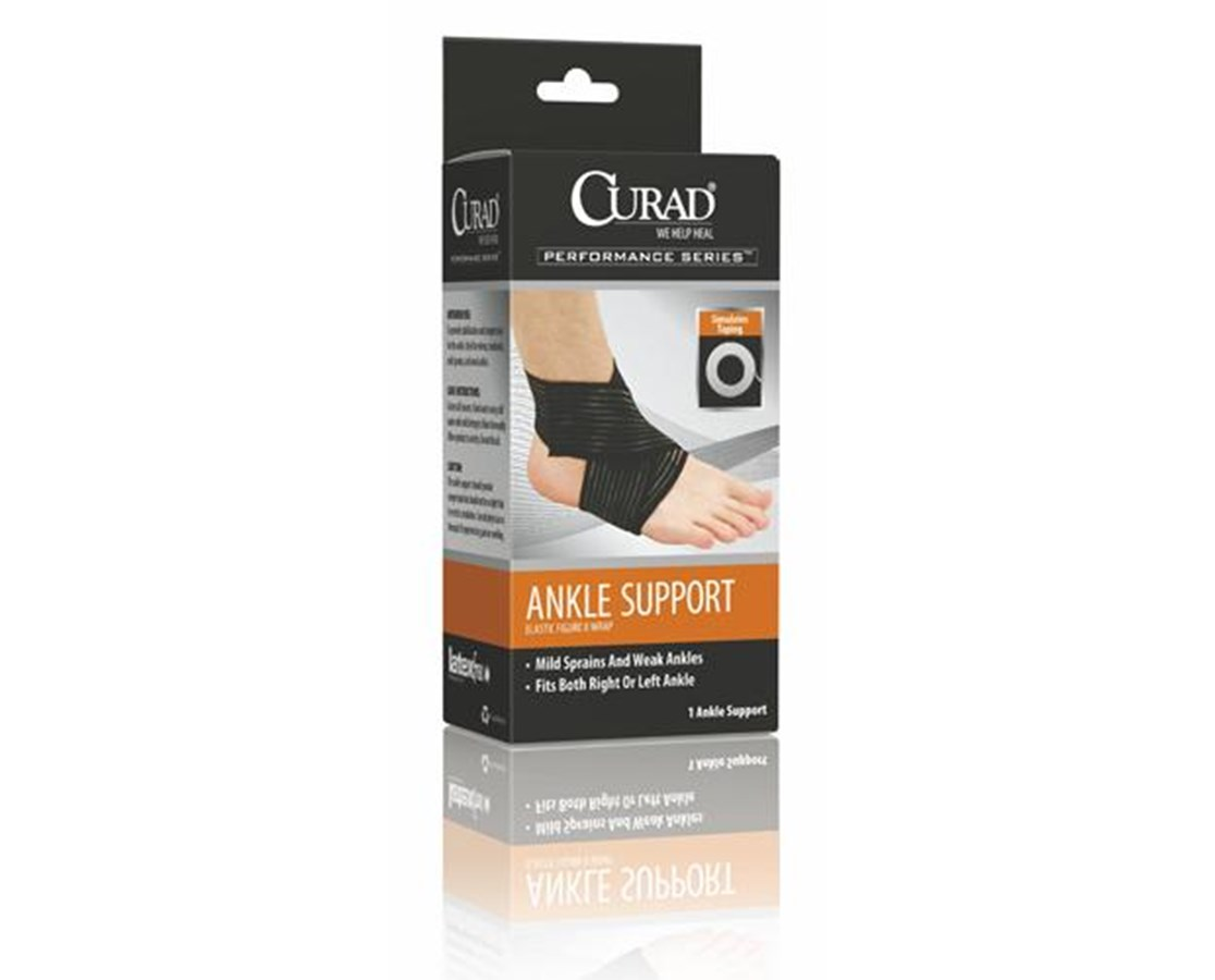 Figure Eight Elastic Ankle Wrap CURORT26120SDH-