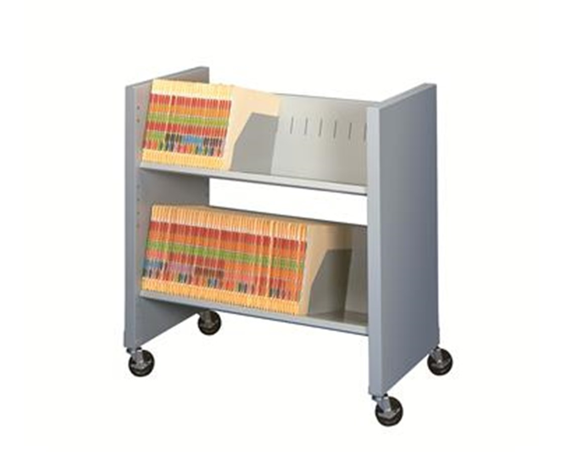 Datum FileCart™ - 2-Shelf with End Panels DATBFC-2EP