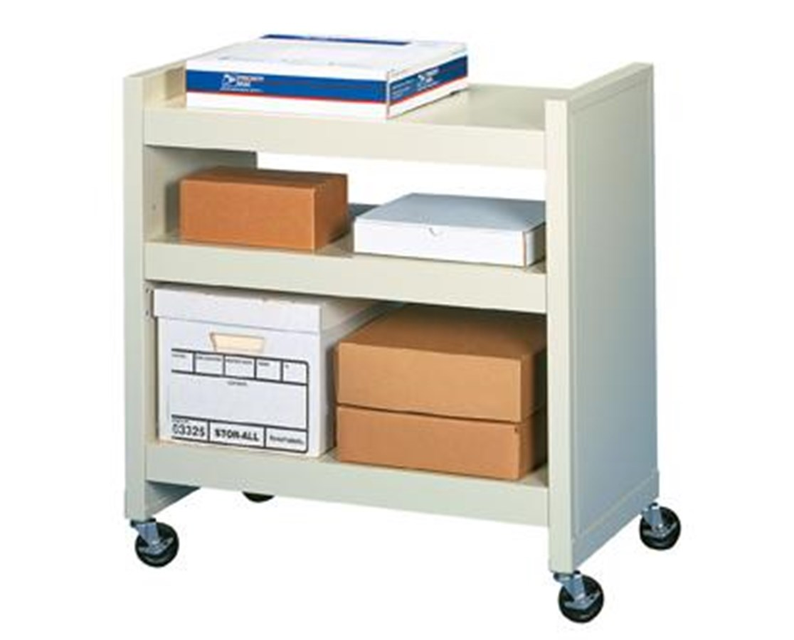 Datum FileCart™ with 2 Fixed and 1 Adjustable Utility Shelf DATBFC-3