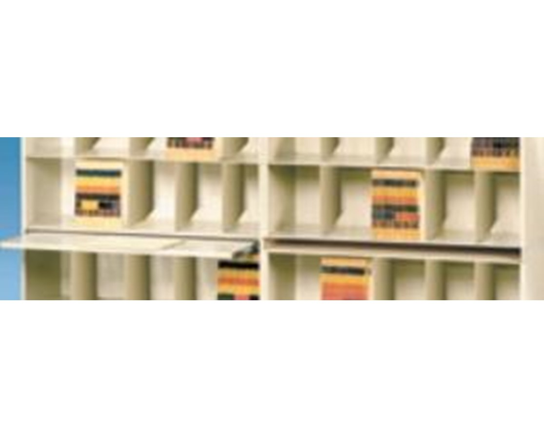 VuStak Spacer for Letter Size Shelving with Straight Tiers DATD2412SOS-
