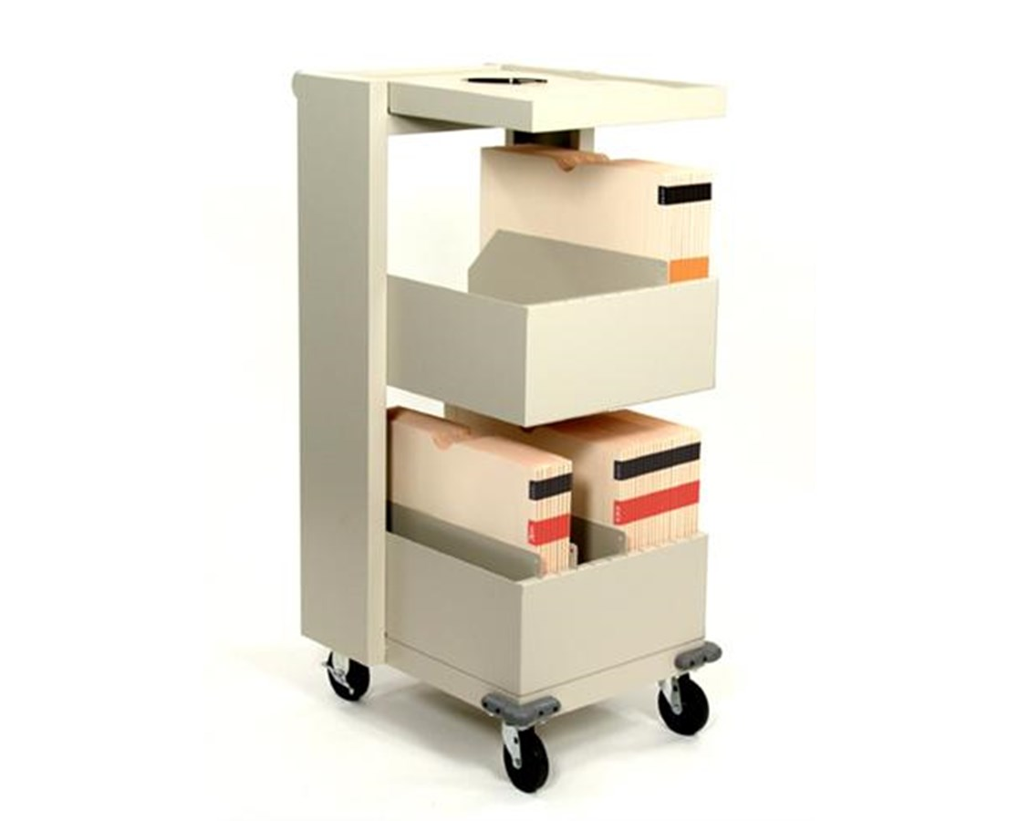 Datum X-Ray Cart - X-Ray Jacket Storage and Transport DATFCXR