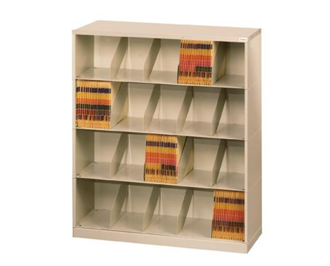 ThinStak™ Open Shelf Filing System - 4 Tiers Copy DATSO24LT-4 + DATSO24BT-2LTT-COPY