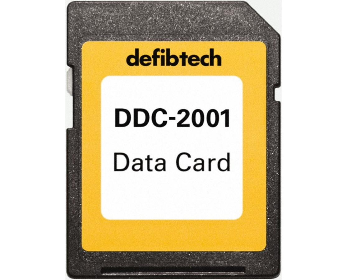 Standard Data Card for Lifeline VIEW & ECG AEDs DEFDDC-2001