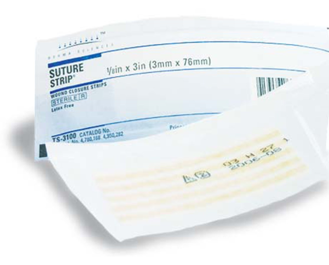 "Suture Strip® Wound Closure Strips, 1/8"" x 3"" DERTS3100-1"