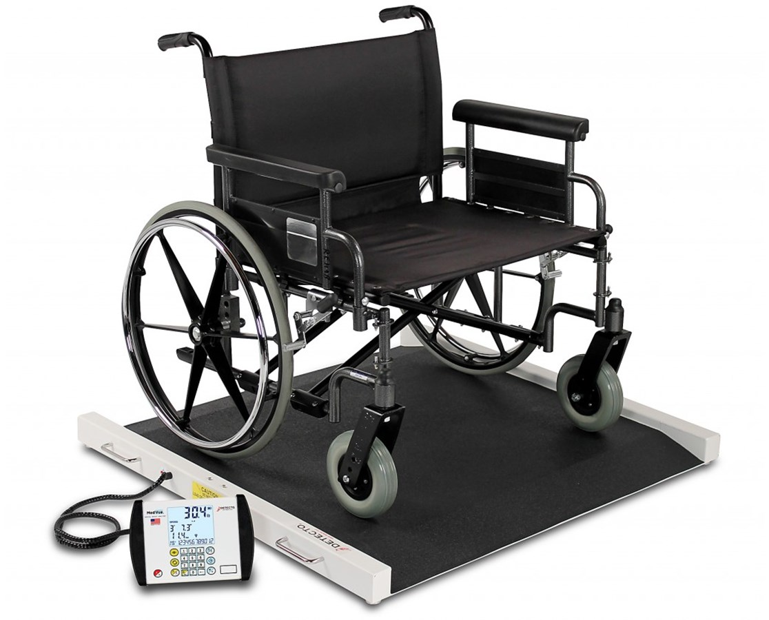 Portable Bariatric Wheelchair Scale DETBRW1000