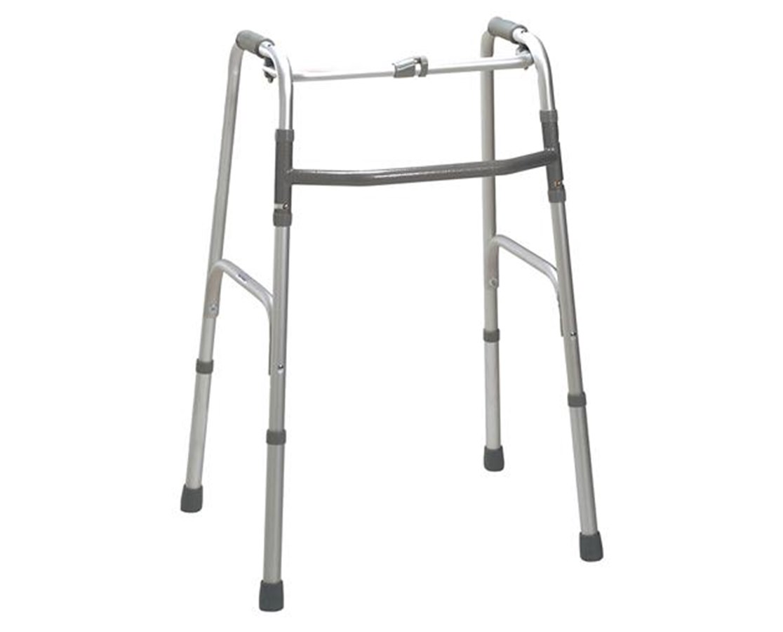 Deluxe One Button Folding Walker DRI10202-2