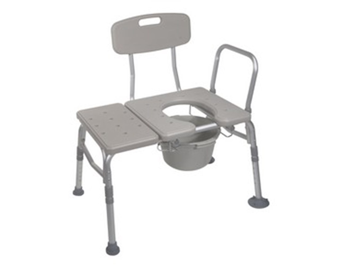 Drive 12011KDC-1 Combination Transfer Bench and Commode