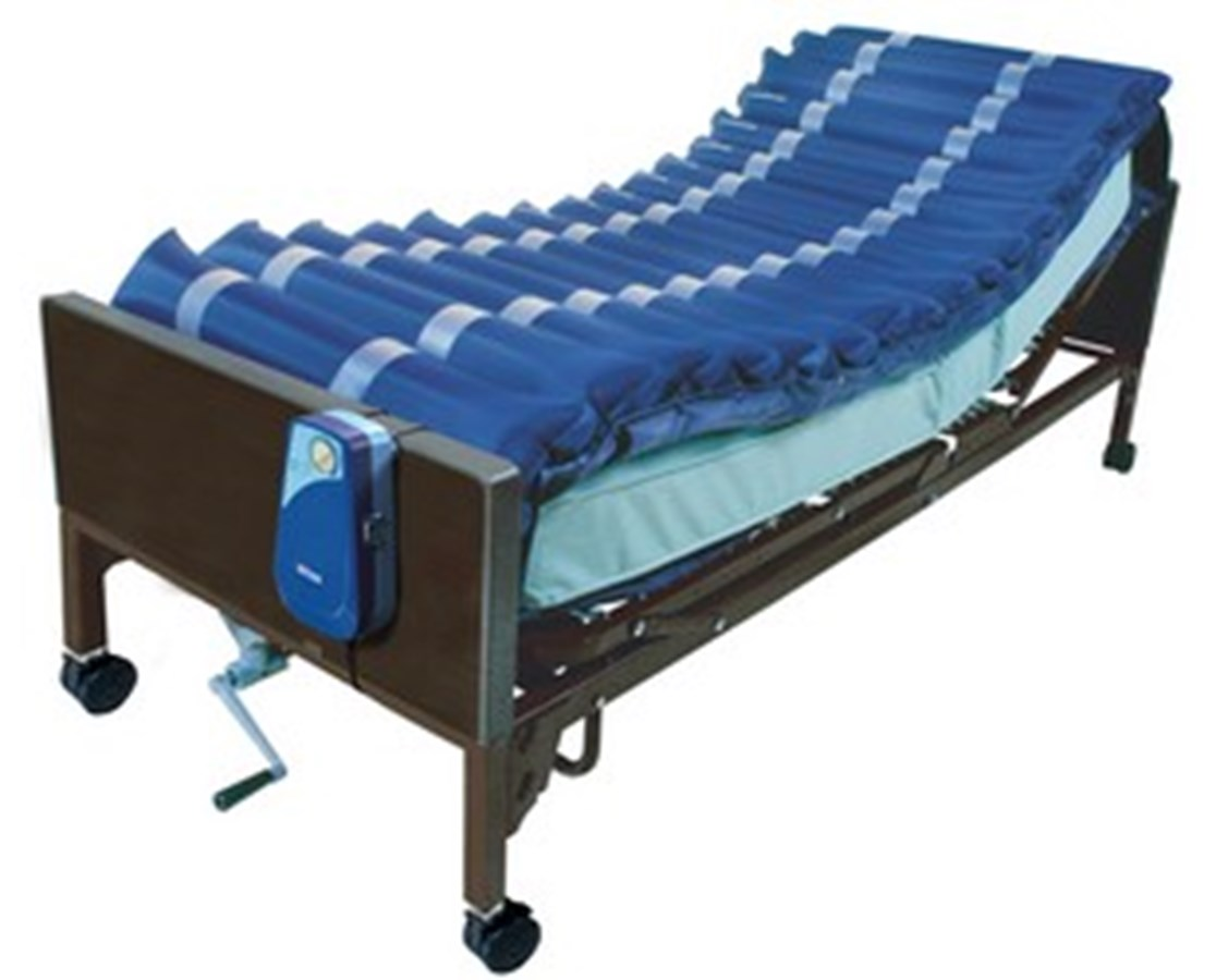 """5"" Med Aire Low Air Loss Mattress Overlay System with APP"" DRI14025N"