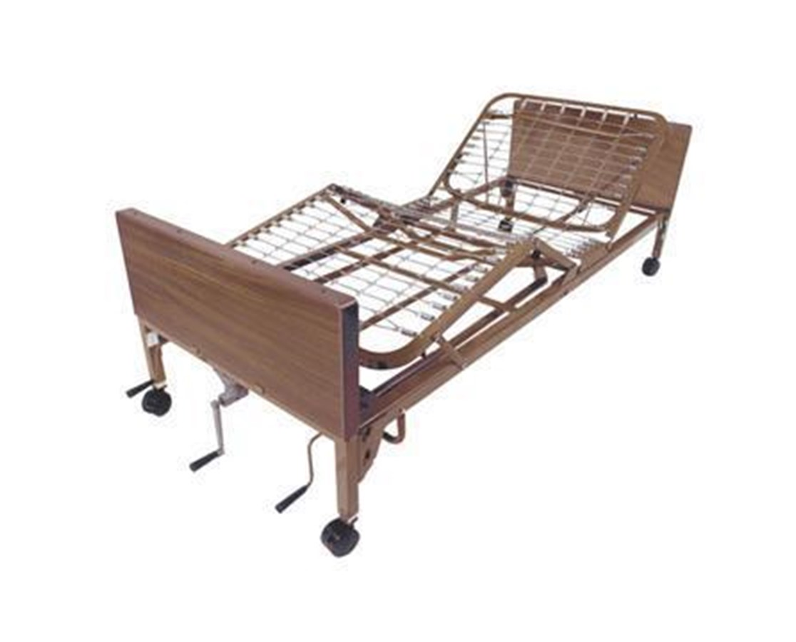 Drive 15003 Multi-Height Manual Bed