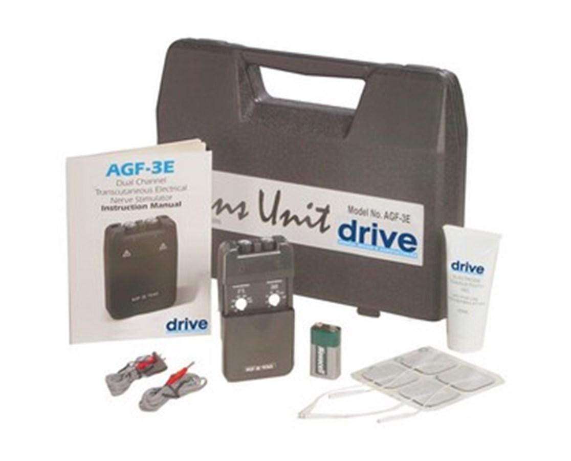 Drive AGF-3E Economy Dual Channel TENS