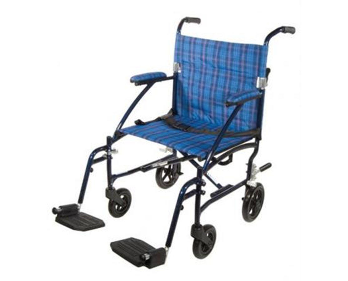 Drive DFL19-BL Fly-Lite Aluminum Transport Chair