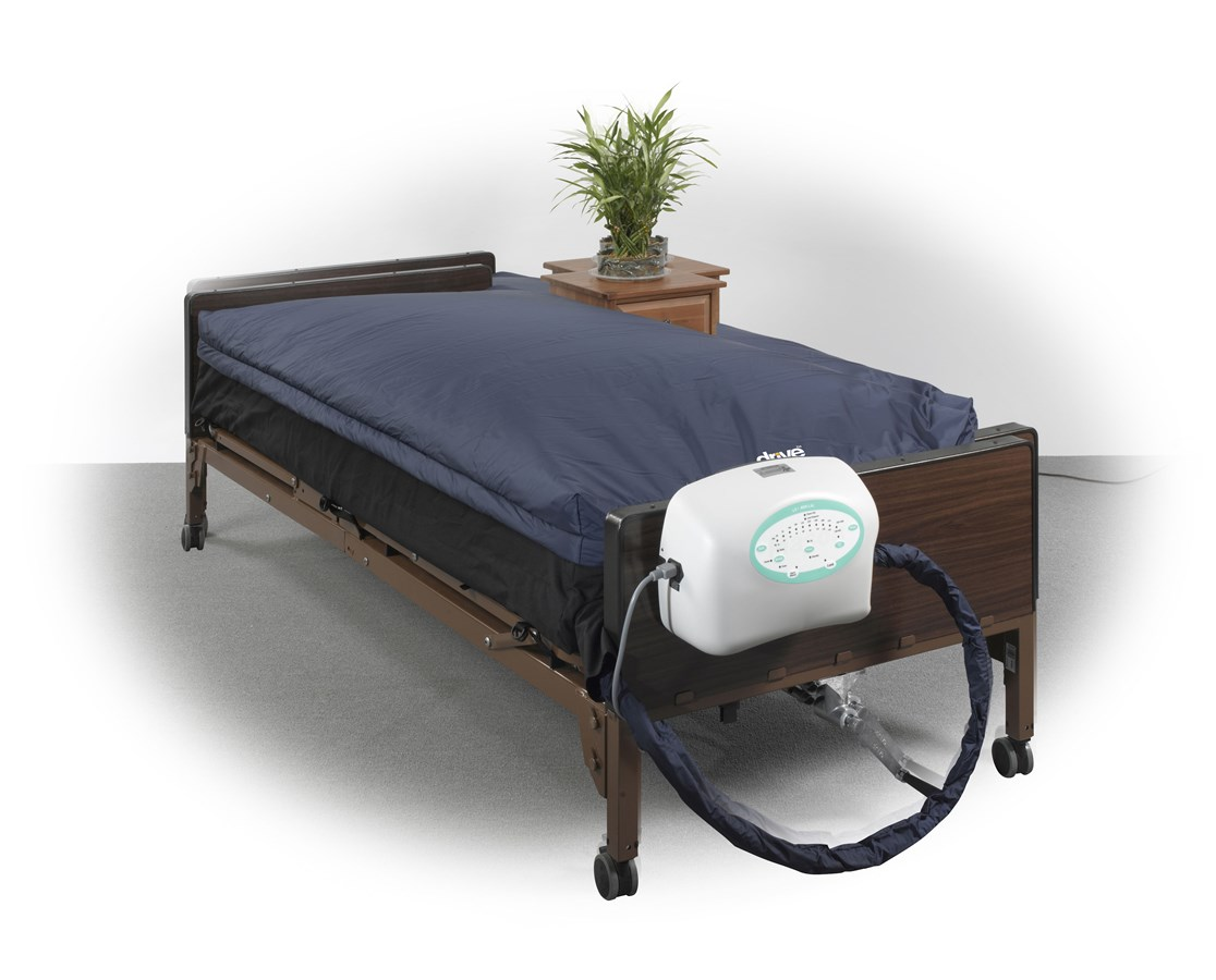 "10"" True Low Air Loss Mattress System with Pulsation DRILS9000"