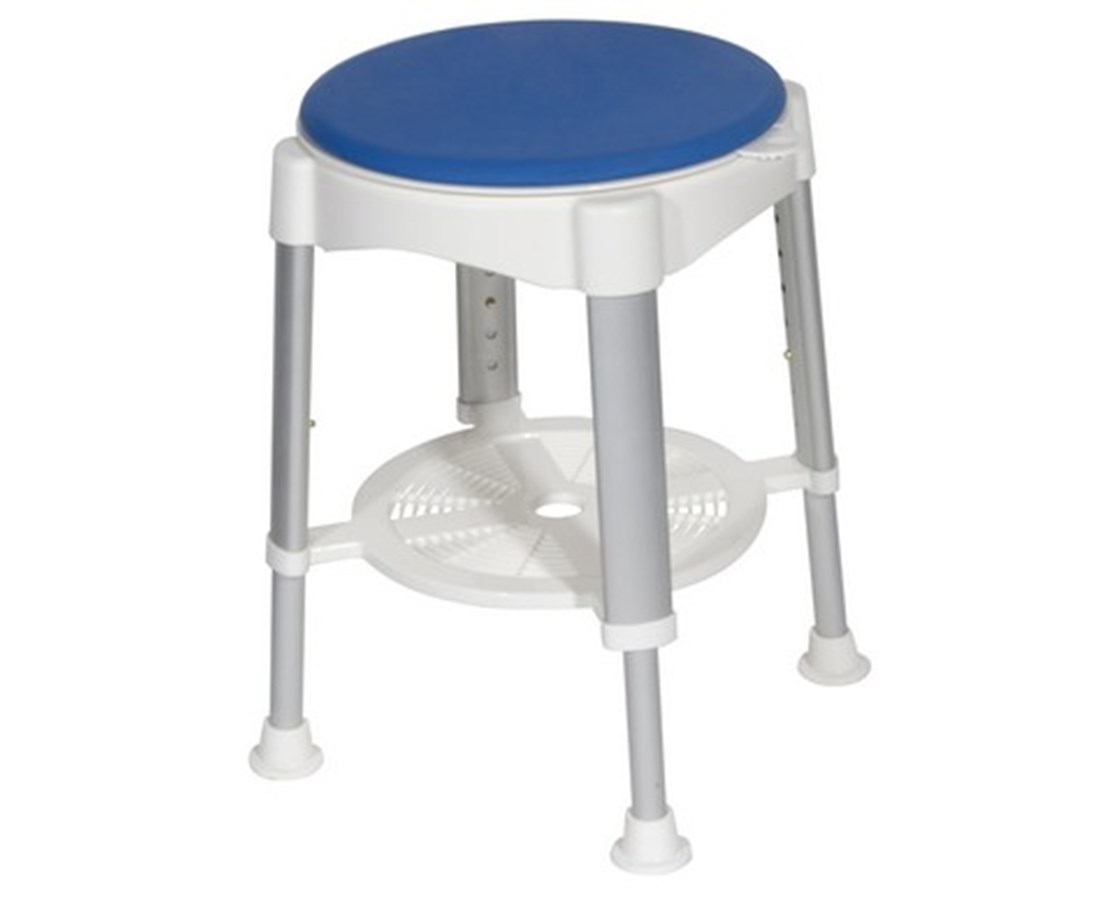Drive Shower Stool With Padded Rotating Seat Free