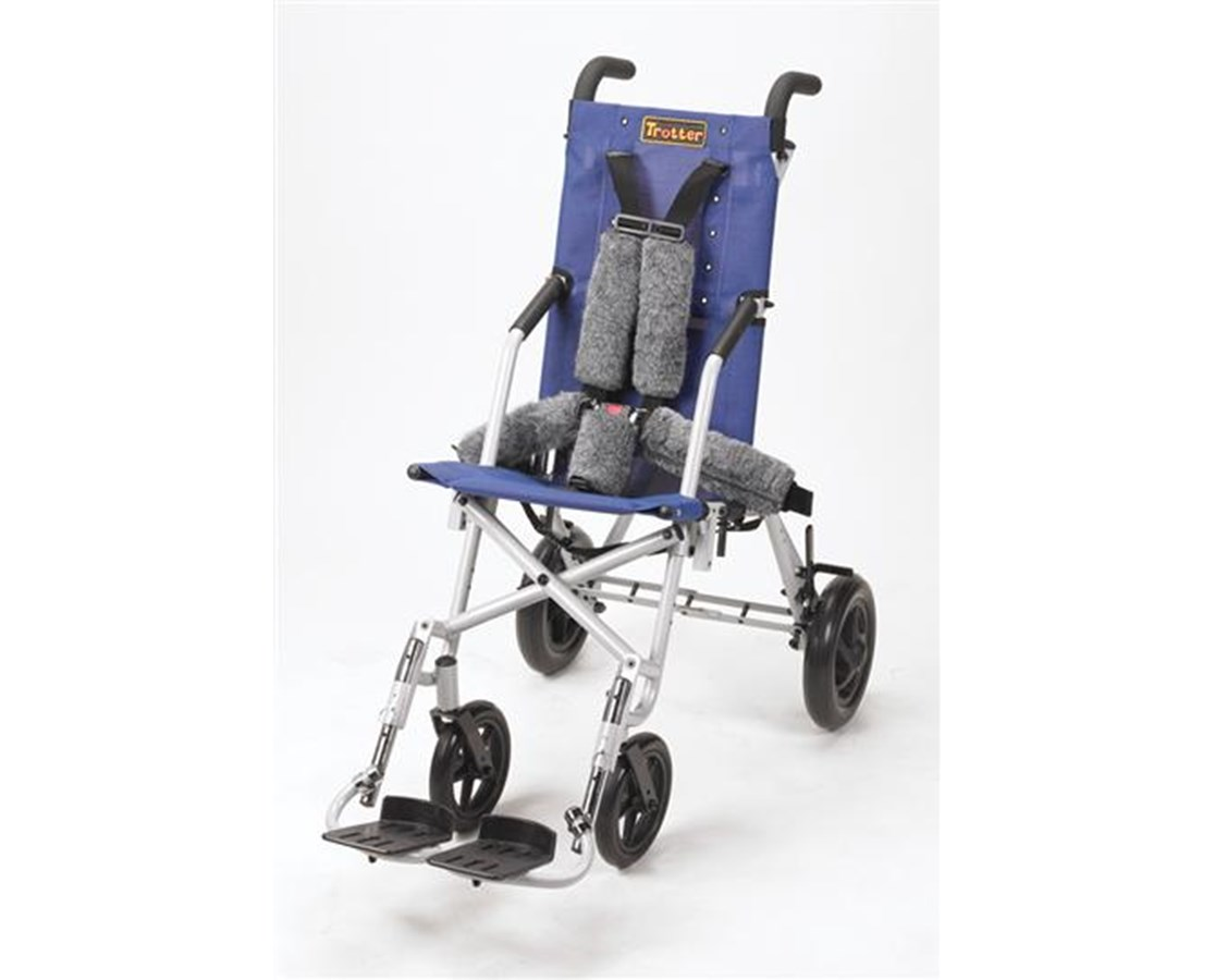 Blue Colored Upholstery for Trotter Mobility Chair DRITR12SB-B