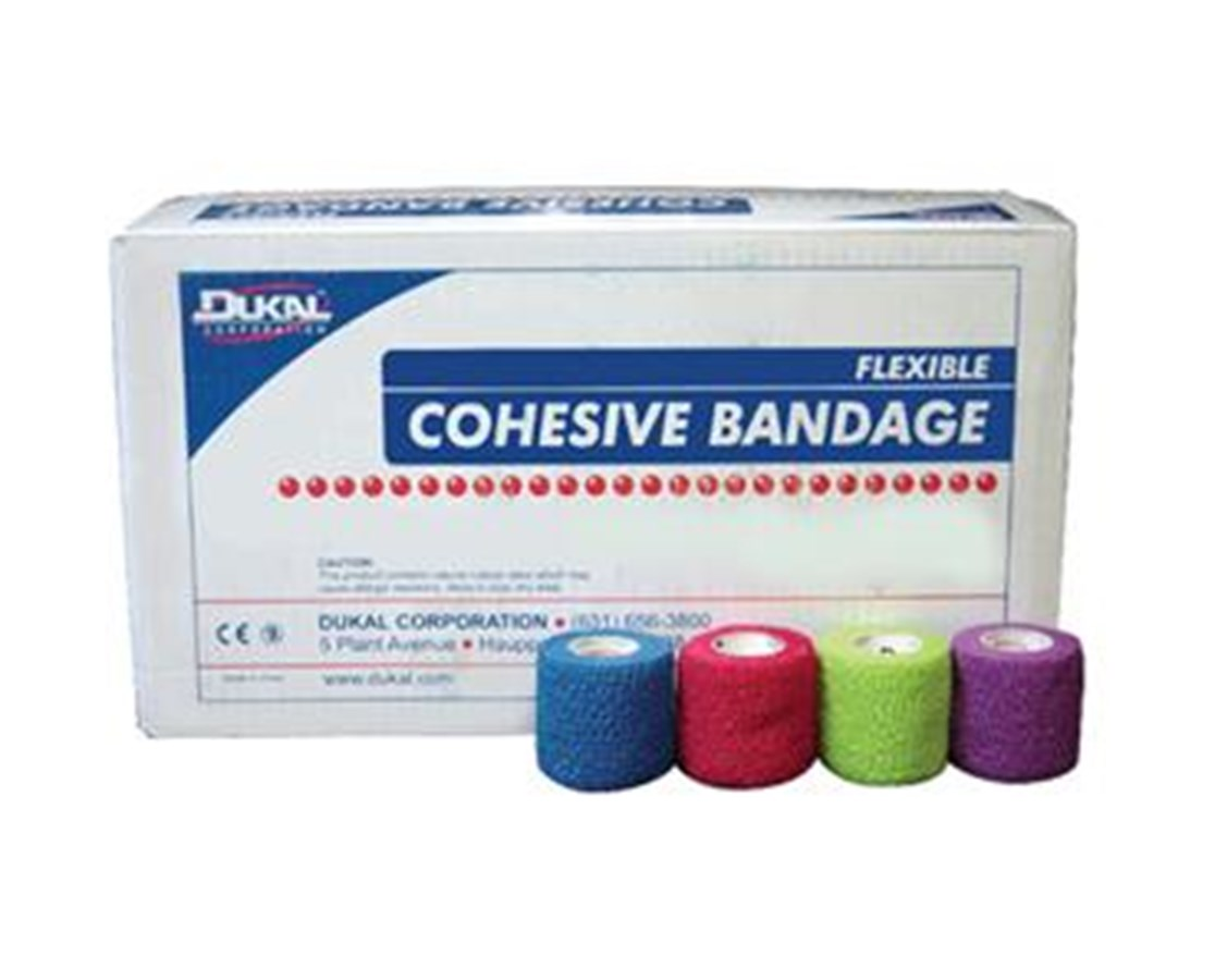 "Cohesive Bandages, 1"" DUK8015AS-"