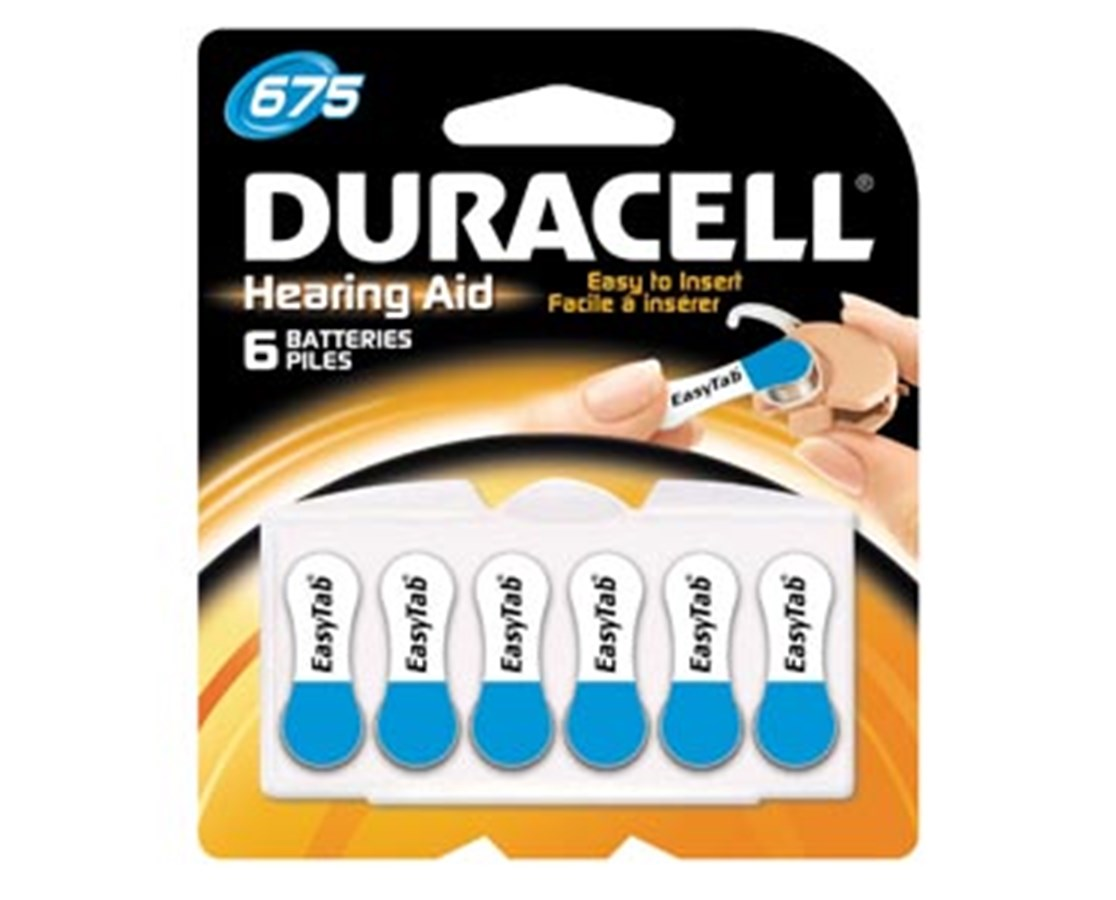 Hearing Aid Battery DURDA10B12RC-