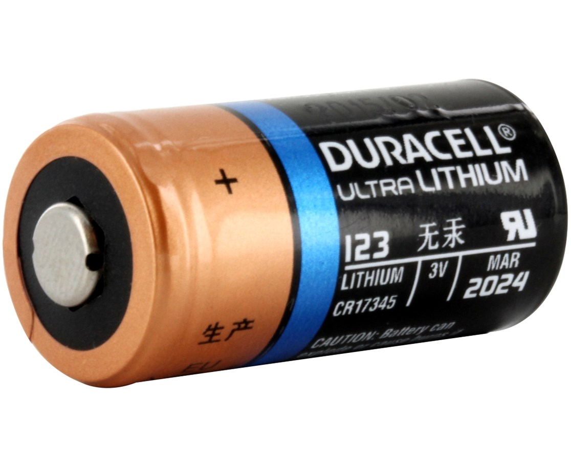 3V Ultra Lithium Photo Battery - 216/Case DURPL123BKD
