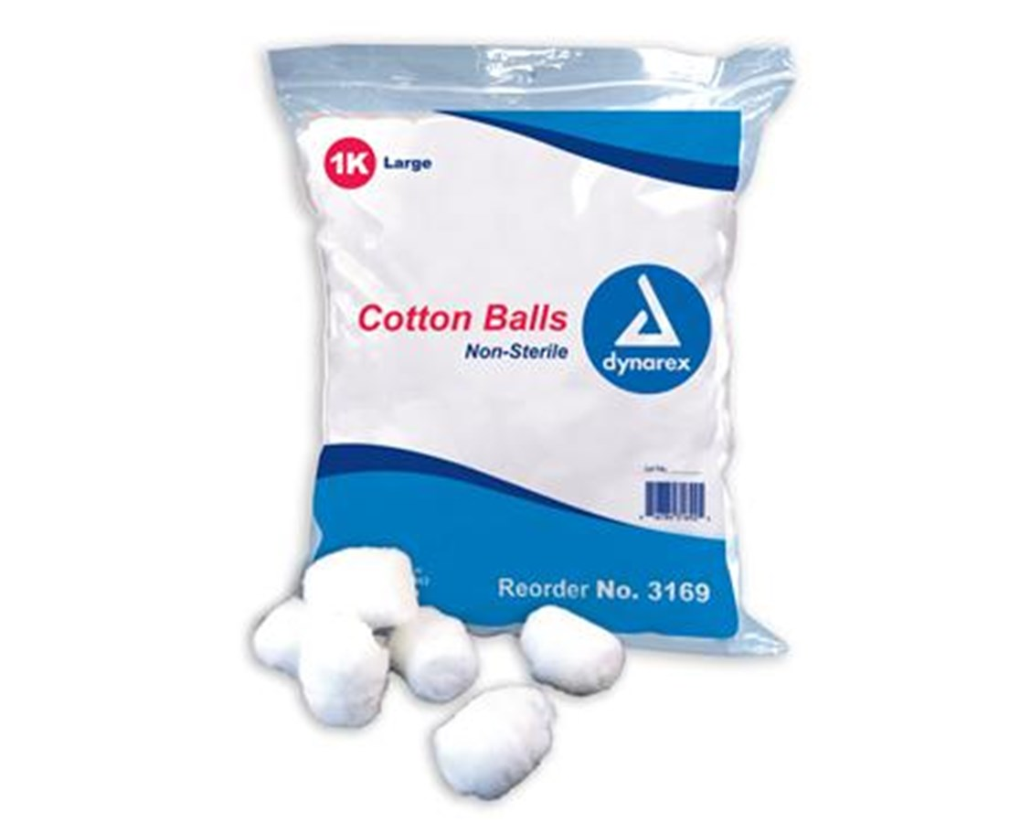 Cotton Ball, Large, Non-Sterile DYN3169