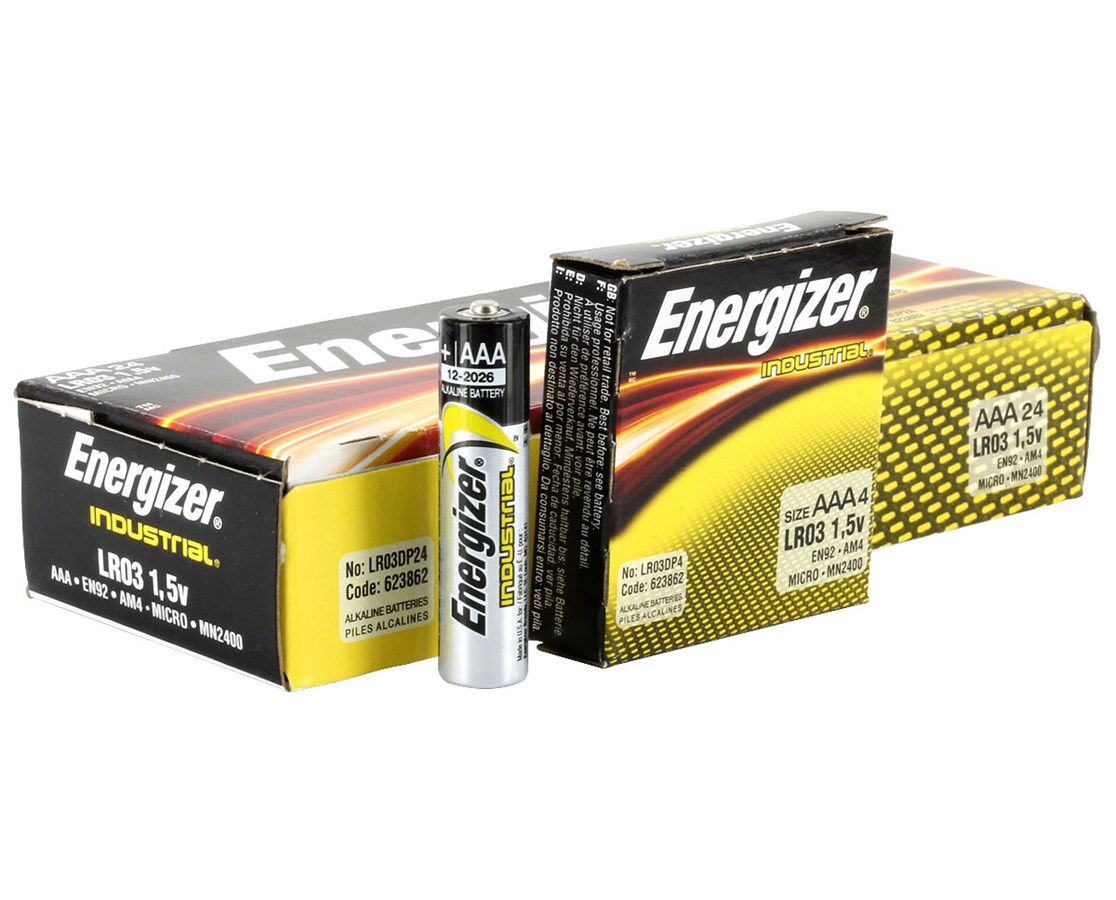 Energizer AAA Industrial Battery - Save at Tiger Medical, Inc