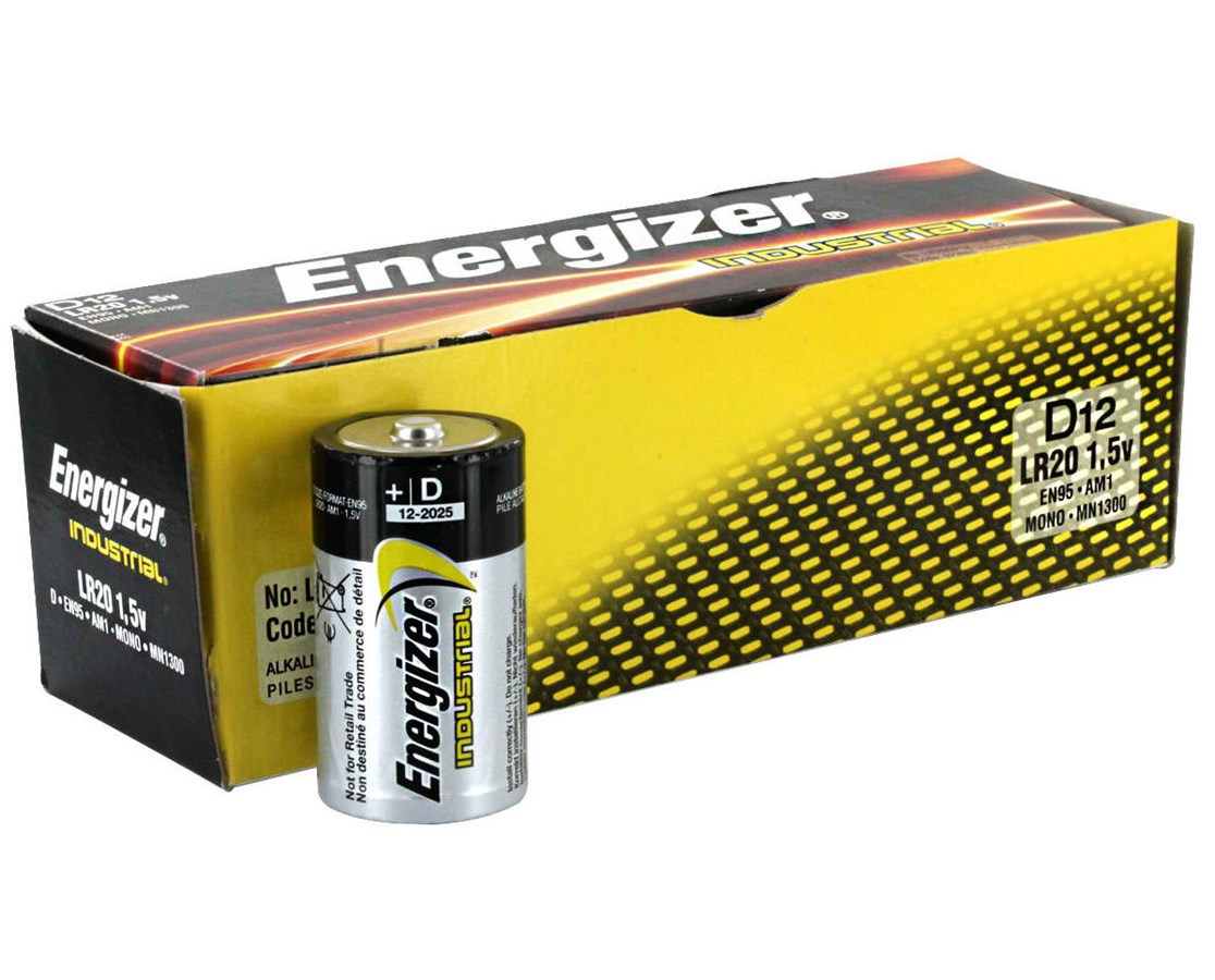 D Industrial Alkaline Battery ENGEN95