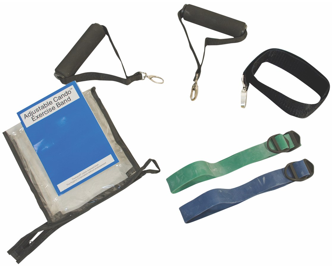 Adjustable Exercise Band Kit - 2 band Moderate FEI10-3241