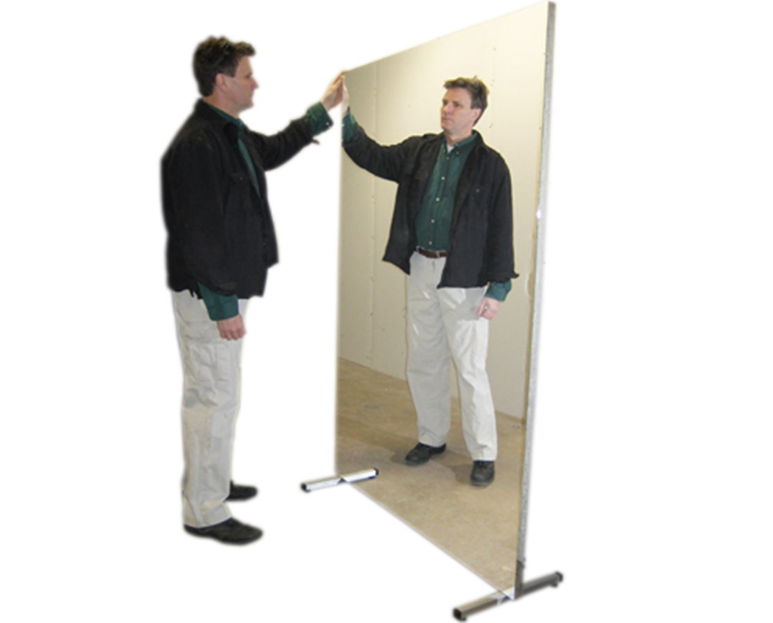 Ultra-Safe Portable Stationary Glassless Mirror FEI19-1002-