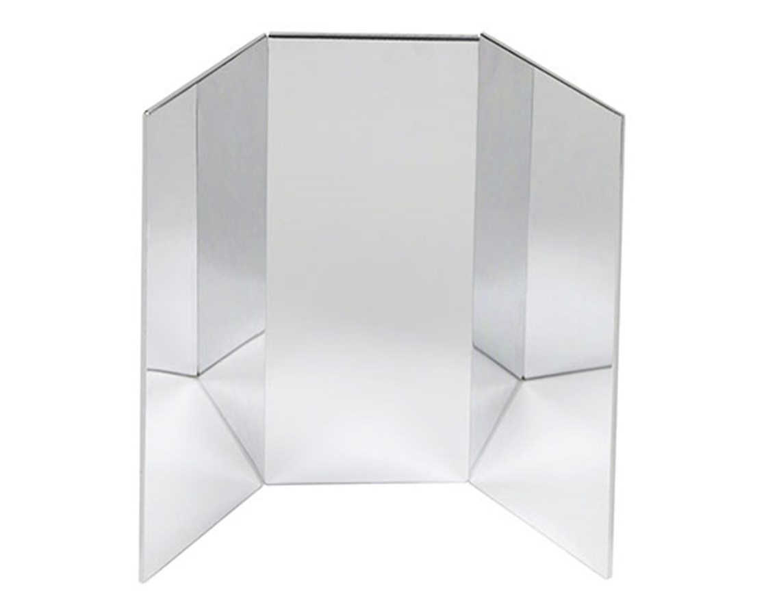 Ultra-Safe Portable Free-Standing Glassless Mirror FEI19-1051-