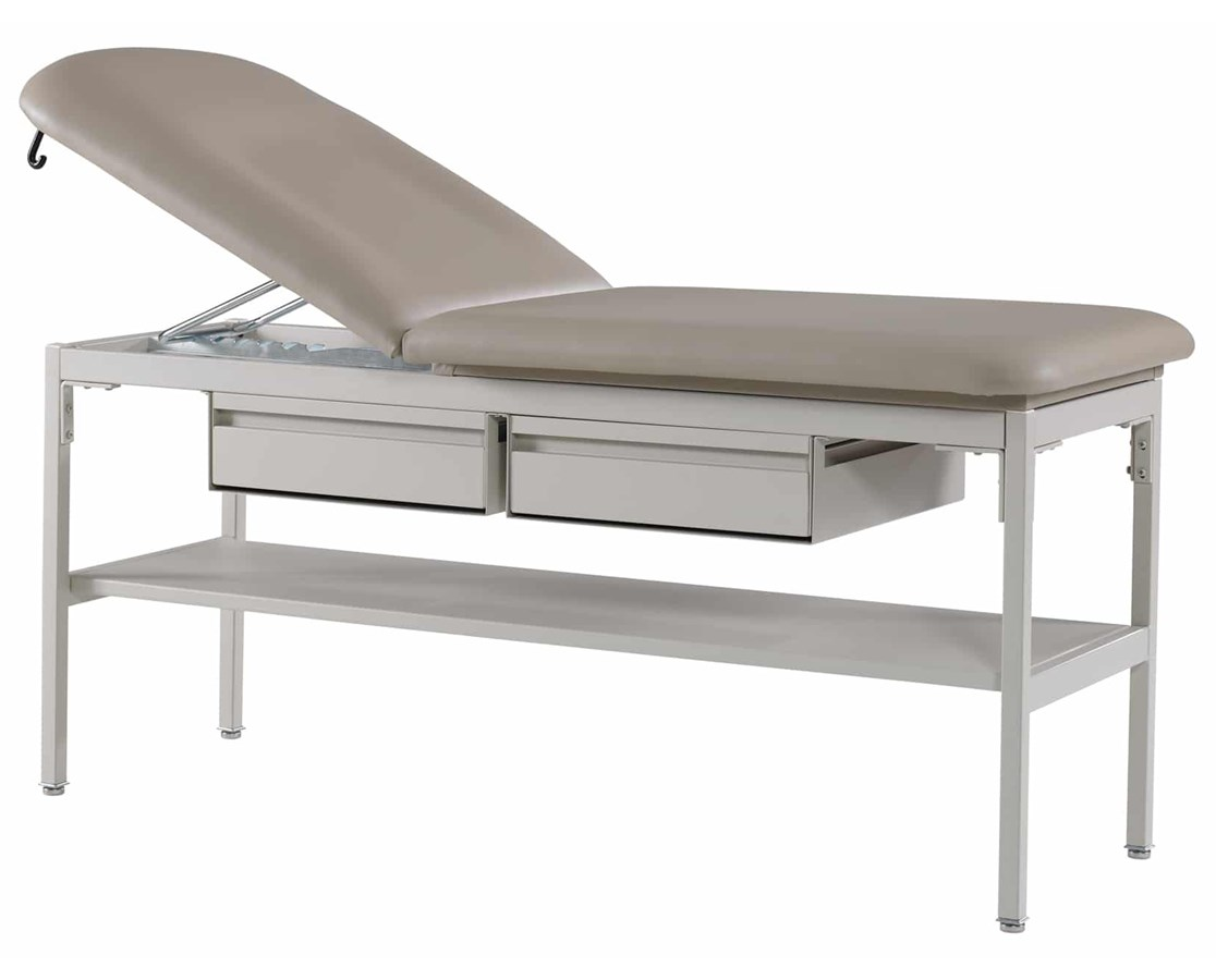 Adjustable Contour Top Treatment Table with Shelf and Drawers GFH4105-DD