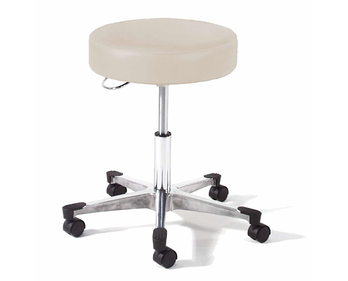 9702 Series Physician Exam Stool with Brushed Aluminum Base GFH9702-