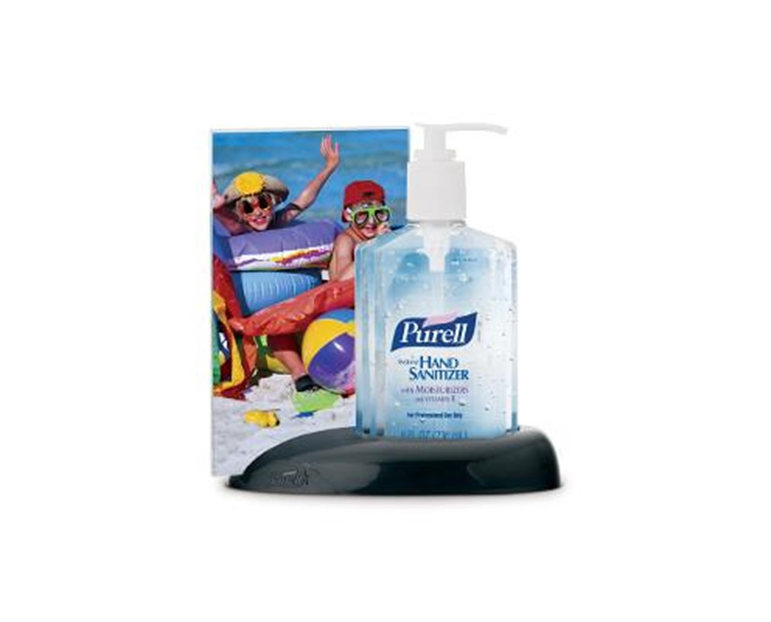 Desk Caddy and Purell Instant Hand Sanitizer GOJ9600-DC1-BLK