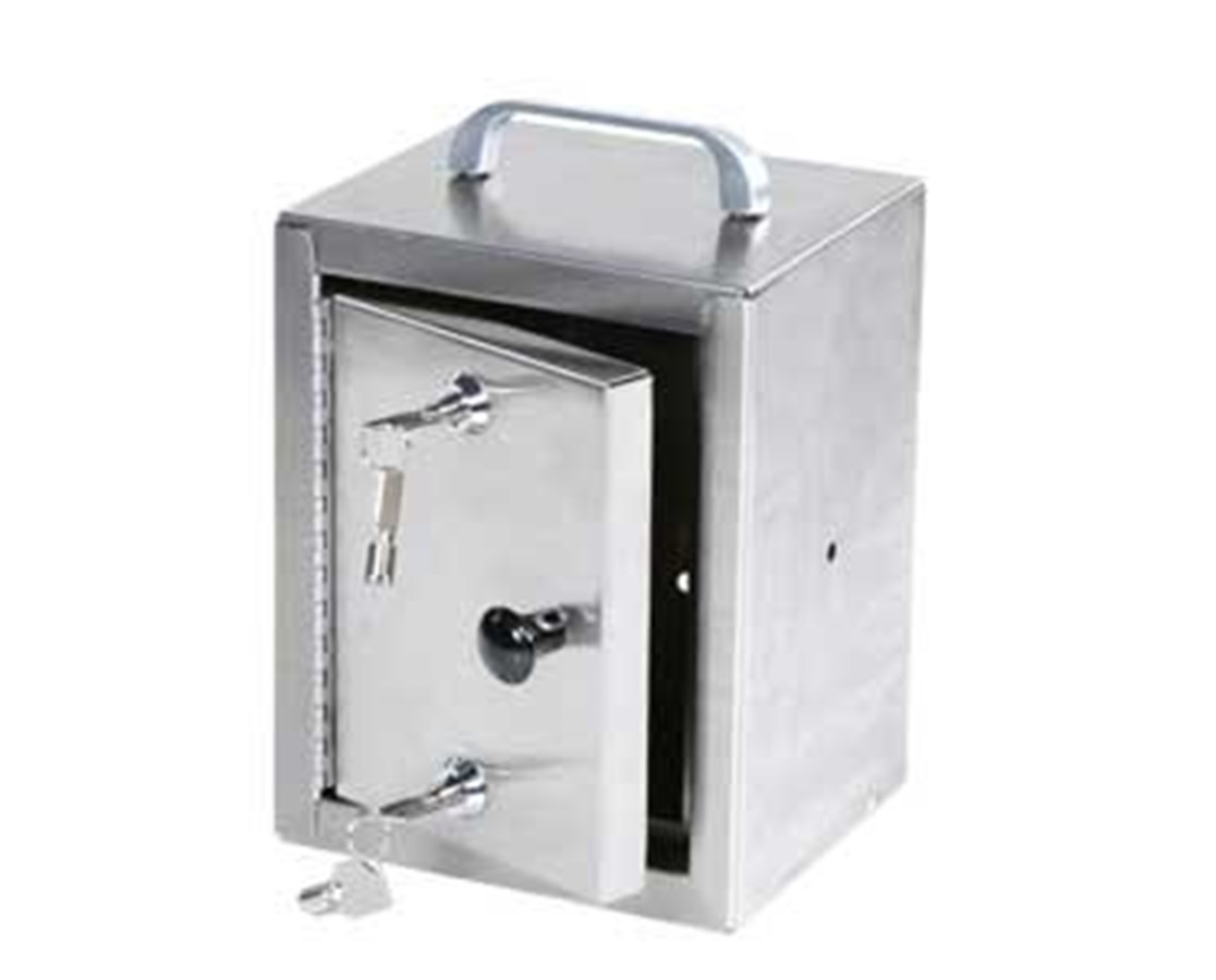 Stainless Steel Double Lock Narcotics Cabinet HAR2712