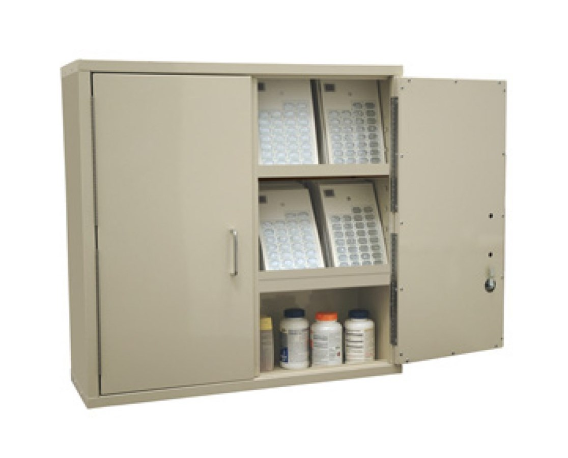 Heavy Duty Large Two Door Narcotics Cabinet HAR2740PC-
