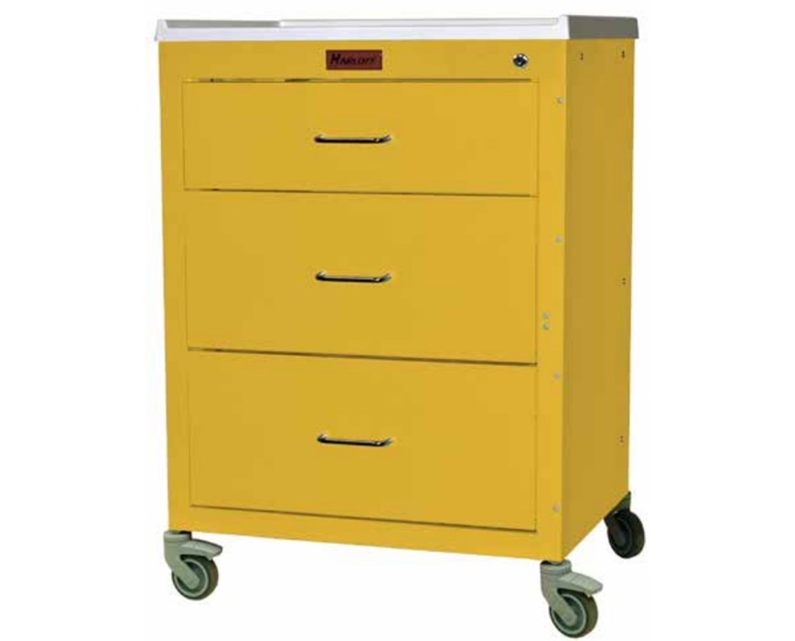 Mini24 Short Cabinet Drawer Isolation Cart HAR4143K-