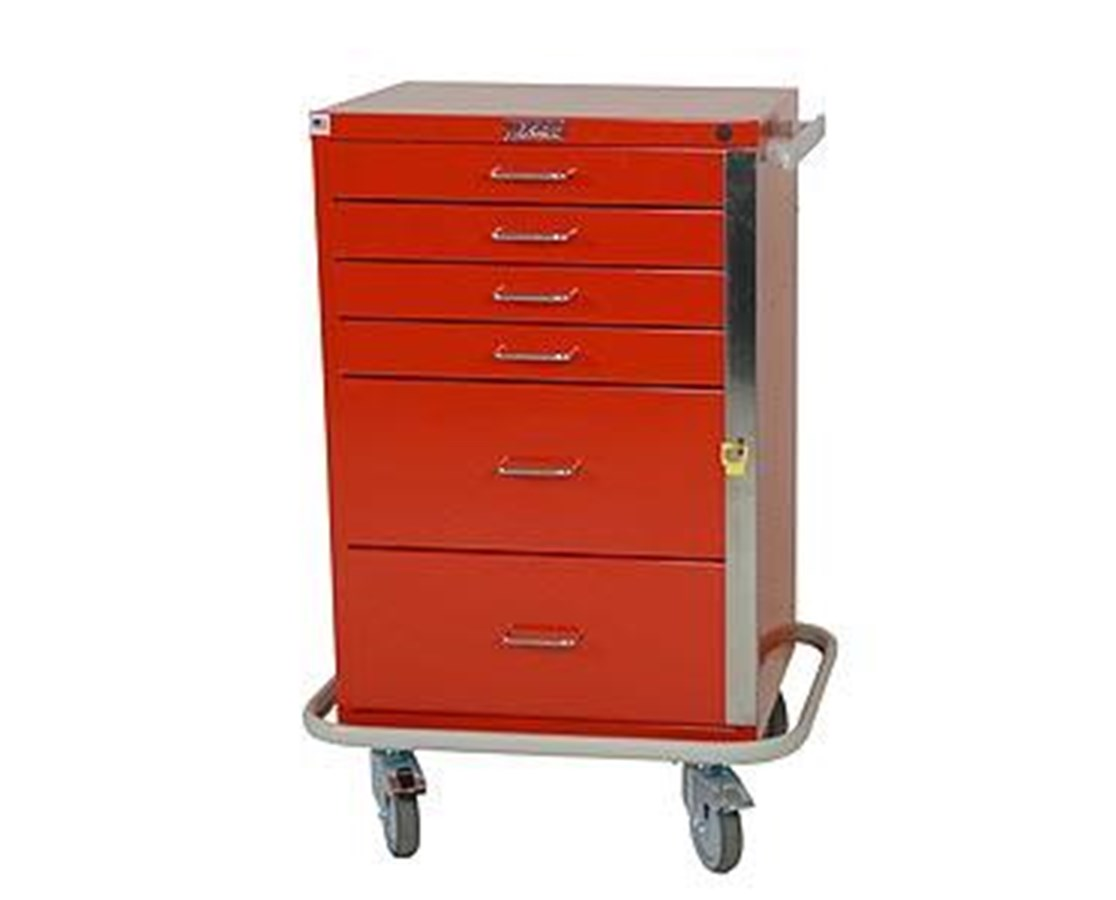 GP Line Six Drawer Emergency Cart HAR6140-